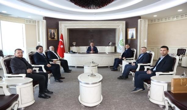 Konya GİAD Başkan Kavuş'u Ziyaret Etti