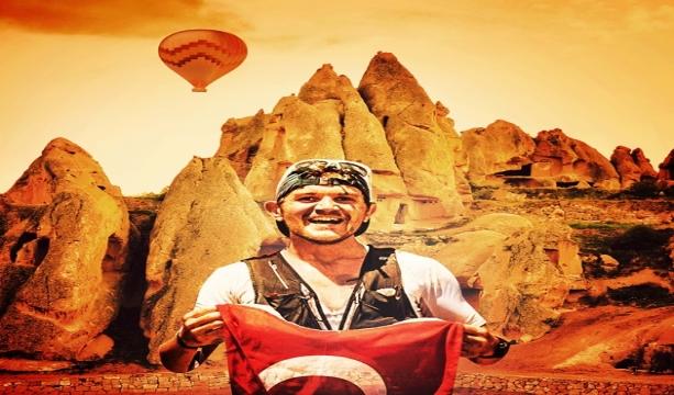 Mehmet Soytürk'ün 63 kilometrelik parkuru 5 saatin altında tamamlaması için geri sayım sürüyor