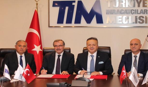 OSBÜK ve TİM arasında işbirliği protokolü imzalandı