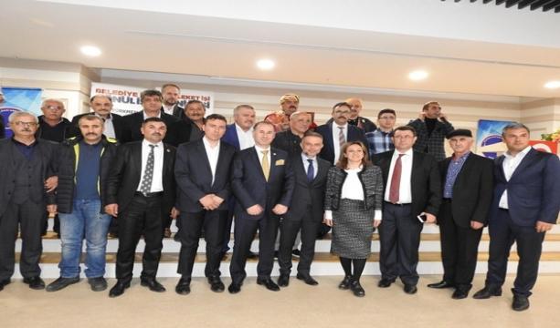 Başkan Ertürk'ten Binali Yıldırım'a destek