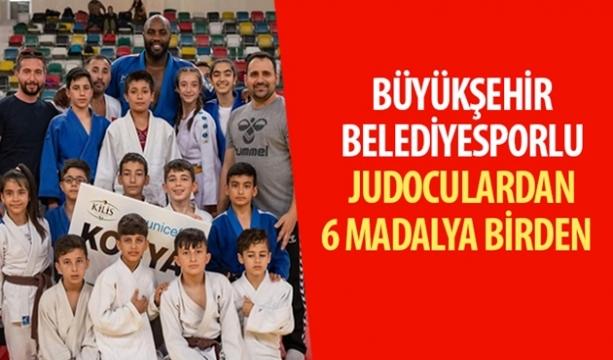 Büyükşehir Belediyesporlu Judoculardan 6 Madalya Birden